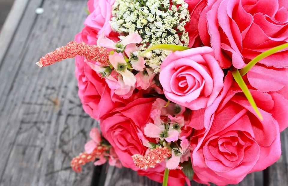 wedding, flowers, bouquet