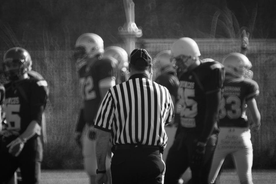 referee, football, uniform