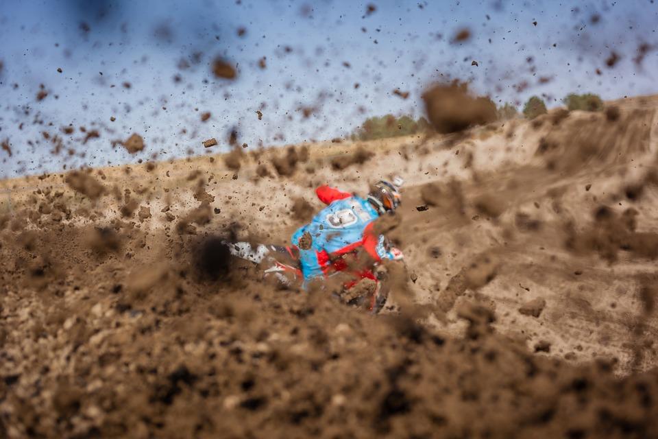 dirt bike, racer, racing