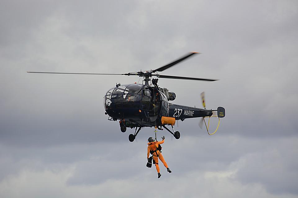marine fire, rescue, hoisting