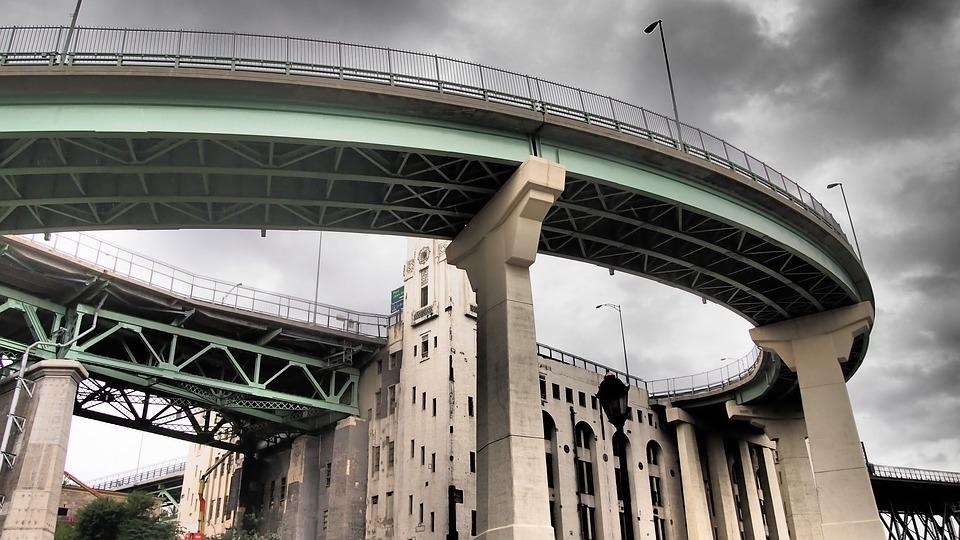 canada, bridge, montreal