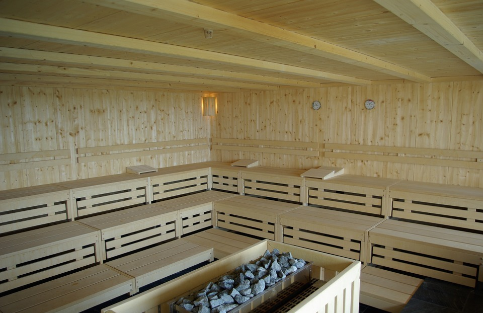 finnish sauna, wellness, health spa