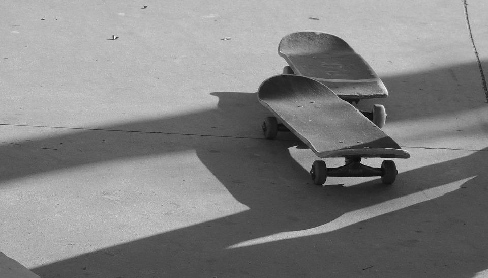 skateboard, street, radical