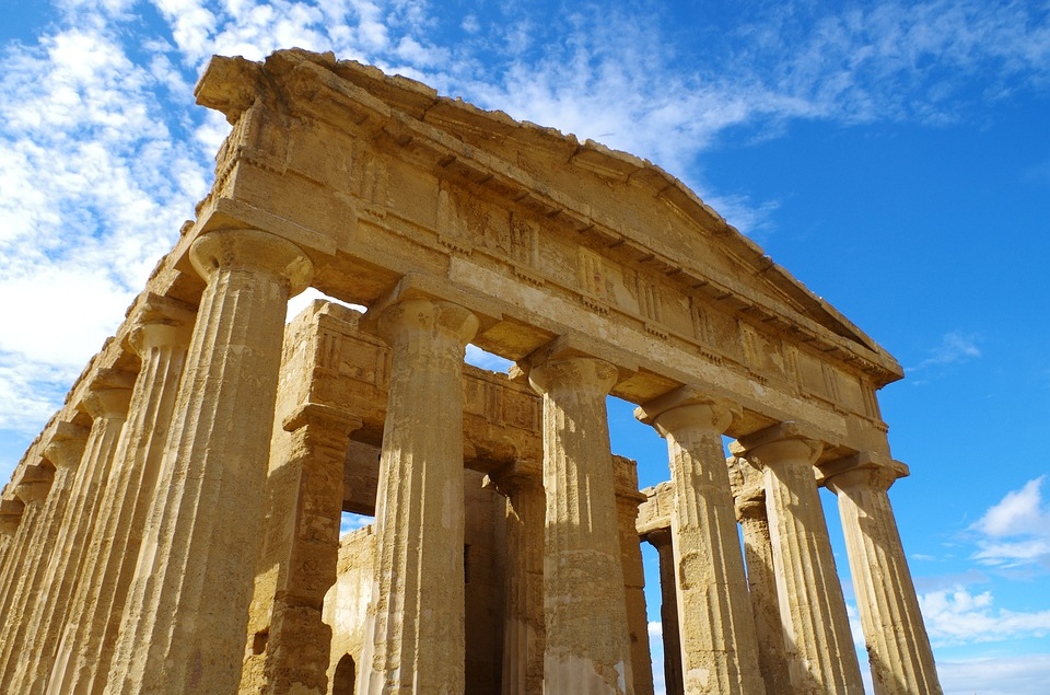 agrigento, valley of the temples, zeus