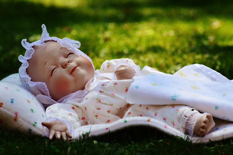 baby, sleep, eyes closed