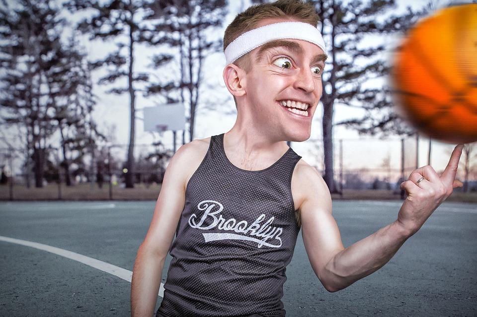 basketball, man, model