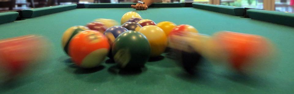 billiards, balls, push