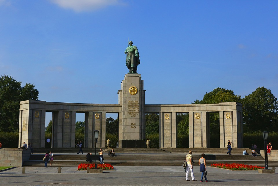 berlin, russian memorial, monument