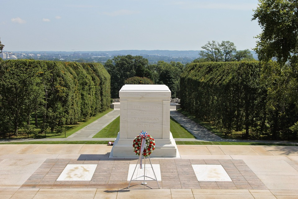 unknown soldier, memorial, arlington