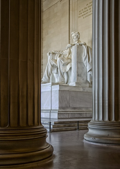 lincoln memorial, washington dc, c