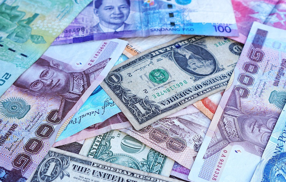 money, banknotes, currency