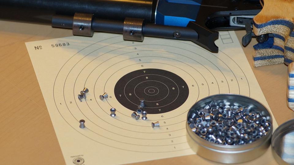 air pistol, shoot, shooting sports