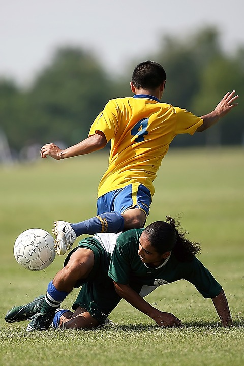 soccer, action, play
