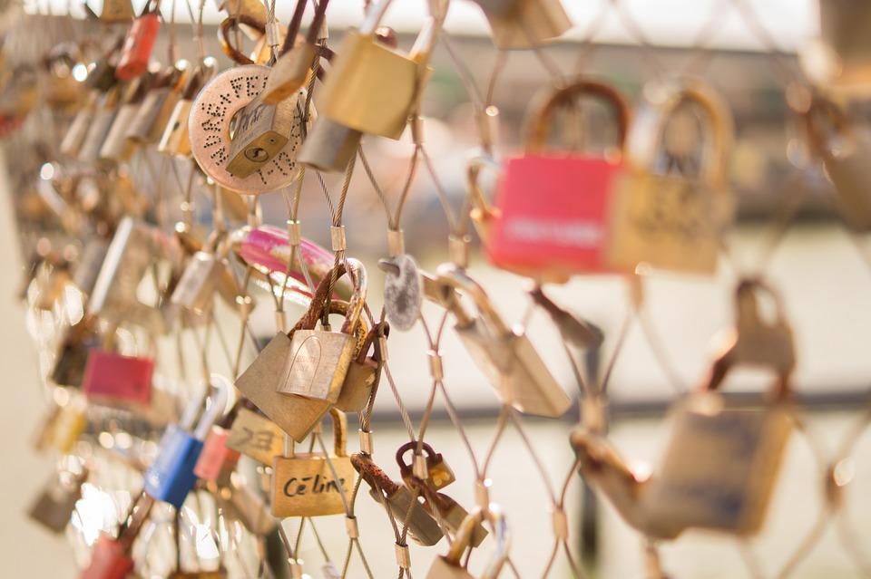 locks, bridge, color