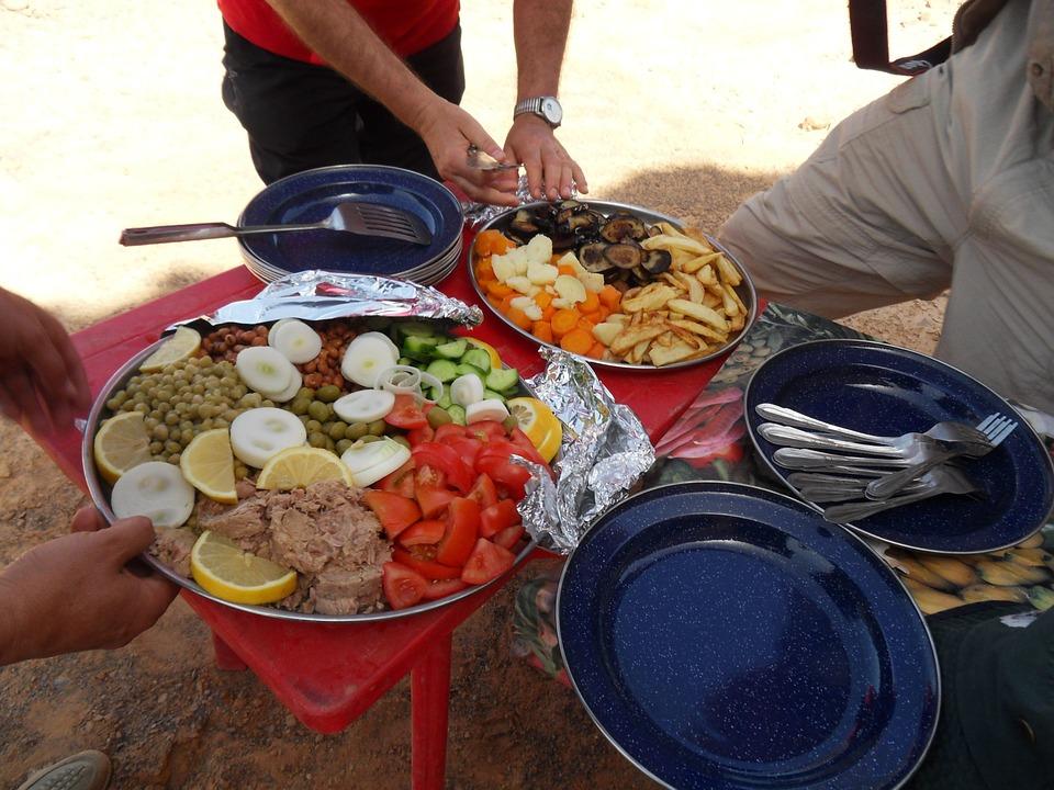 picnic, eat, food