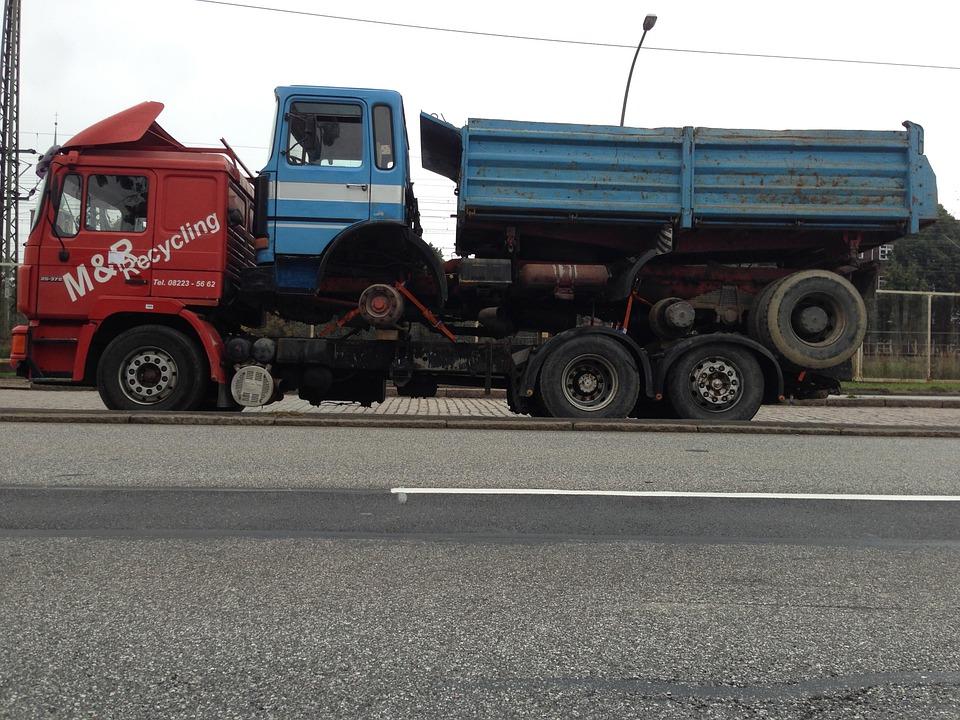 truck, vice, piggyback