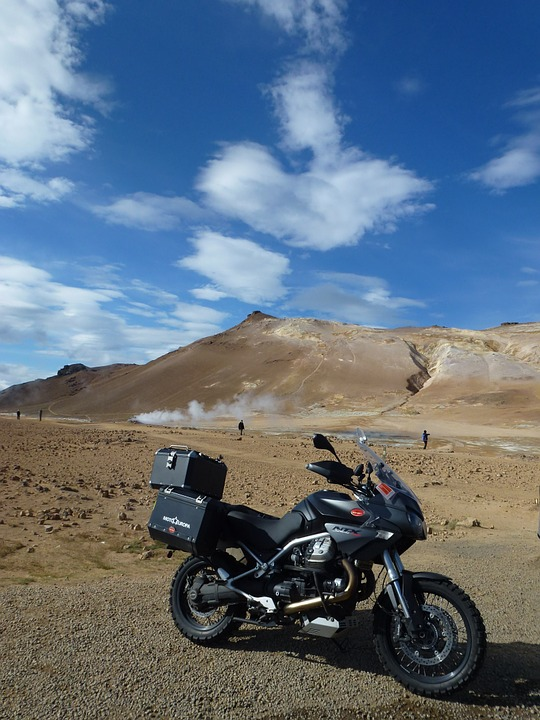 moto, moto guzzi, iceland