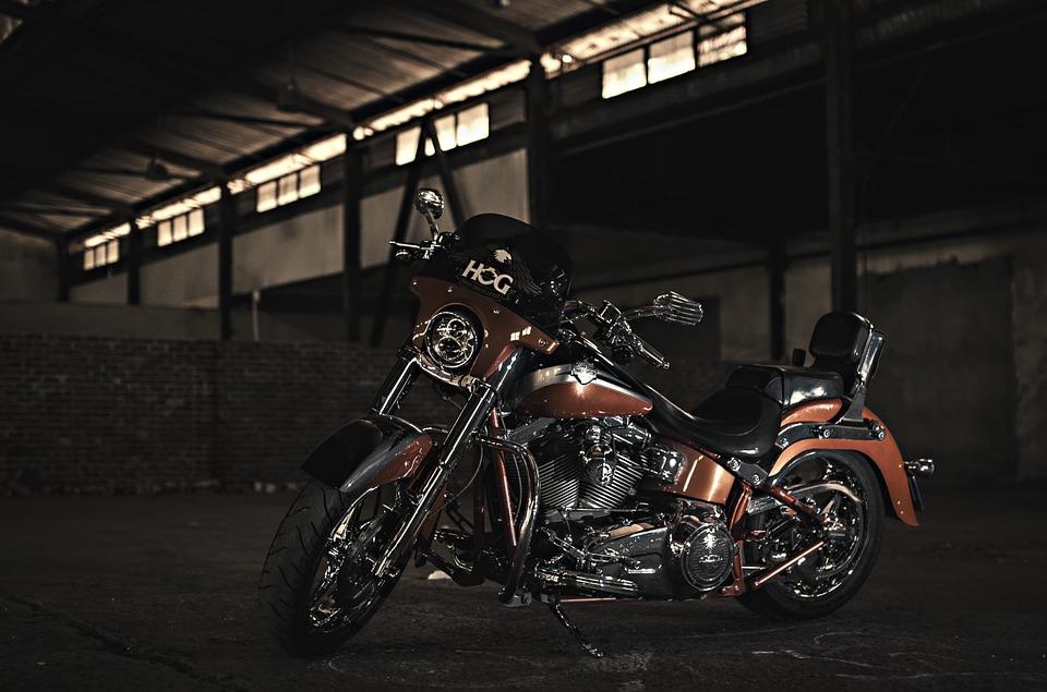 harley davidson, motorbike, motor