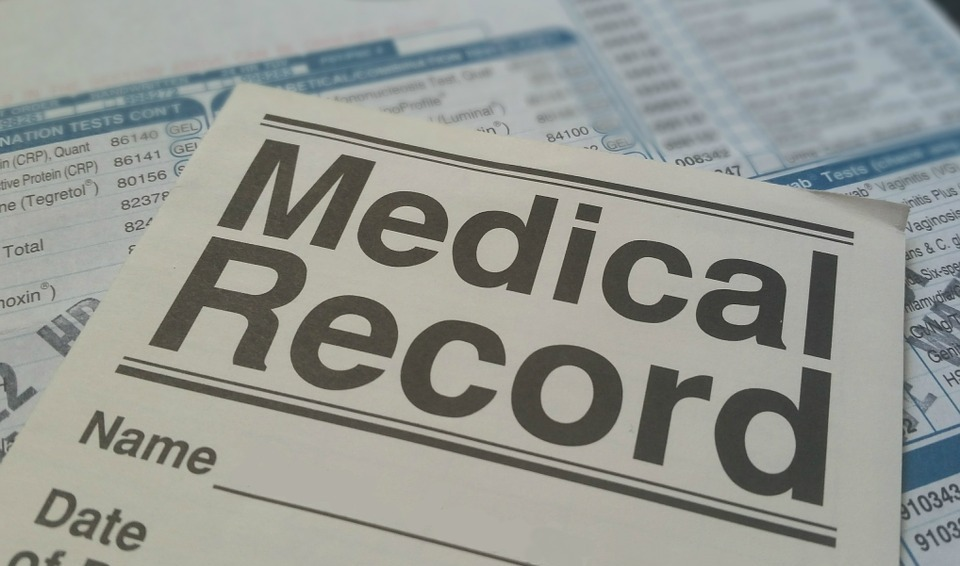 medical, record, health