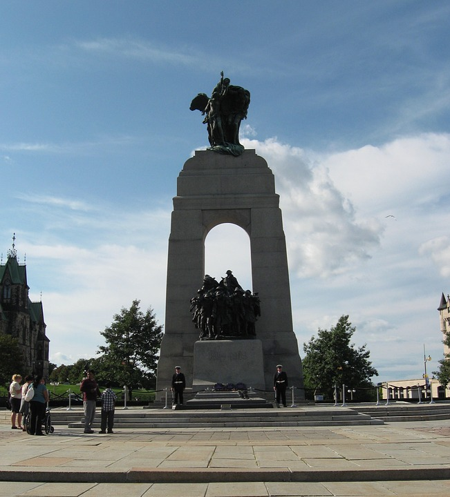 war memorial, ottawa, ontario