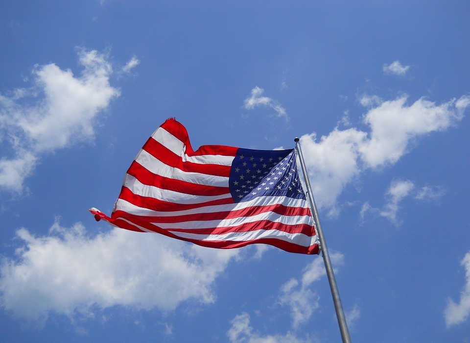 american flag, flag, labor day