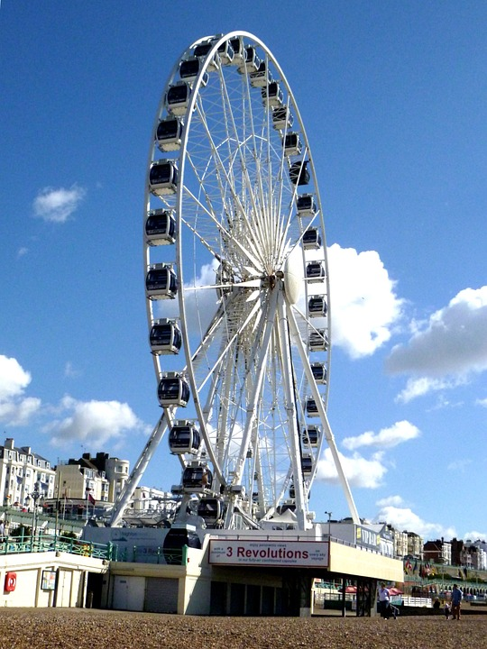 ferris wheel, wheel of excellence, tourist attraction