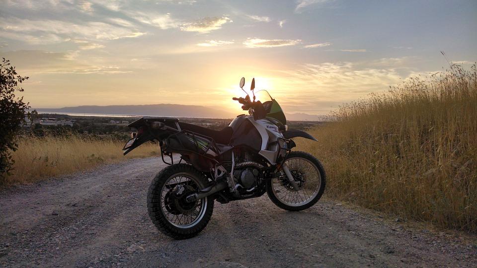 motorcycle, kawasaki, klr 650