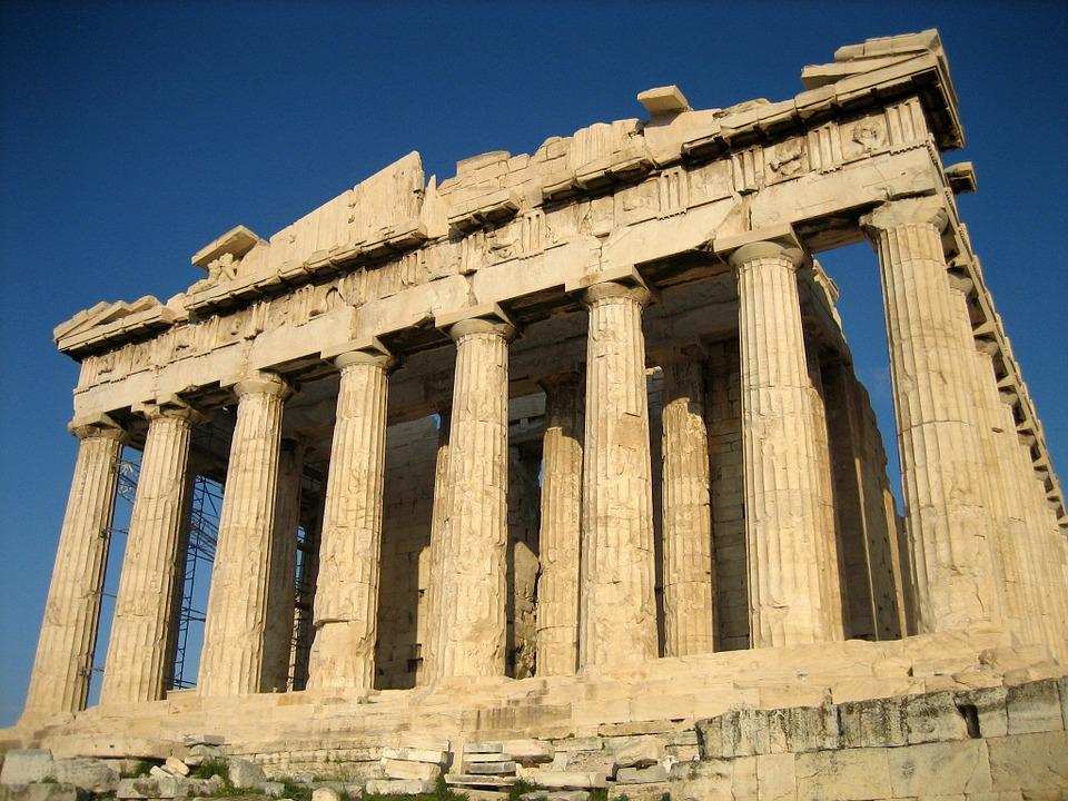 acropolis, temple, parthenon