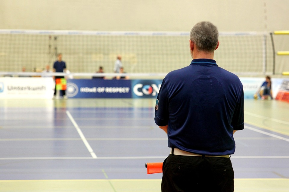 volleyball, sport, referee