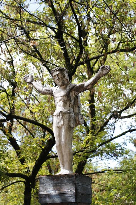 jesus, art, sculpture