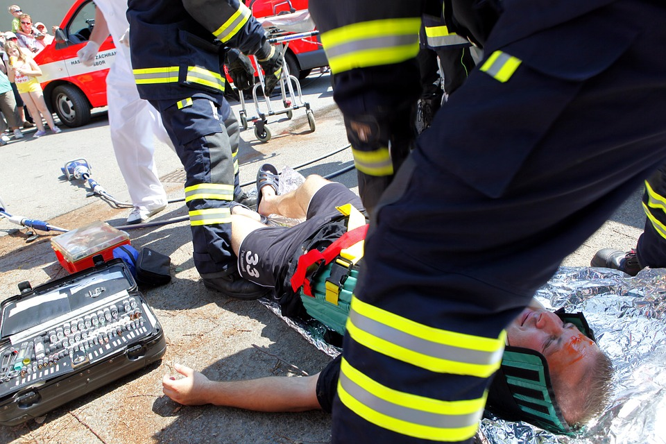 accident, fireman, help