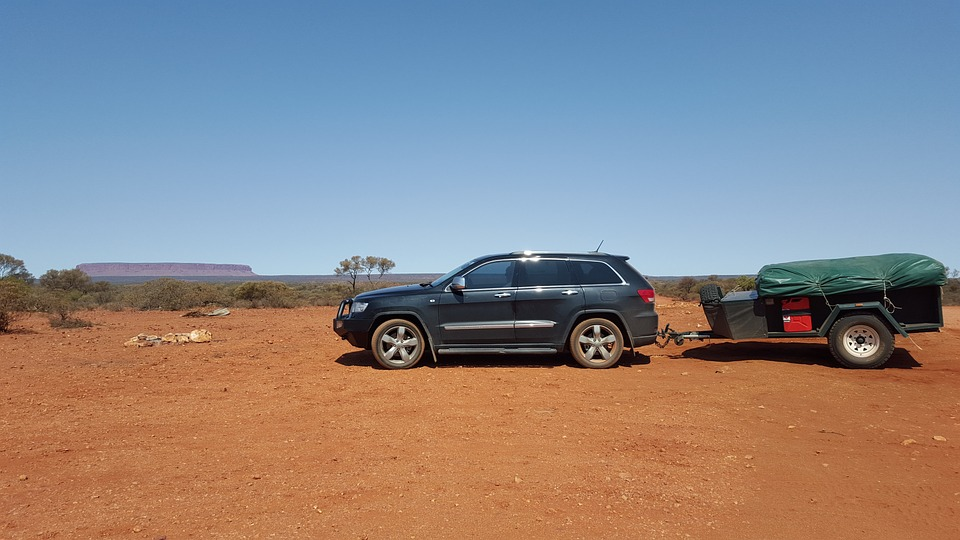 camping, 4x4, outback