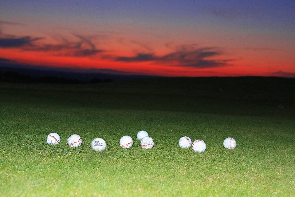 golf balls, sport, fun
