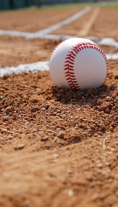 baseball, ball, gravel