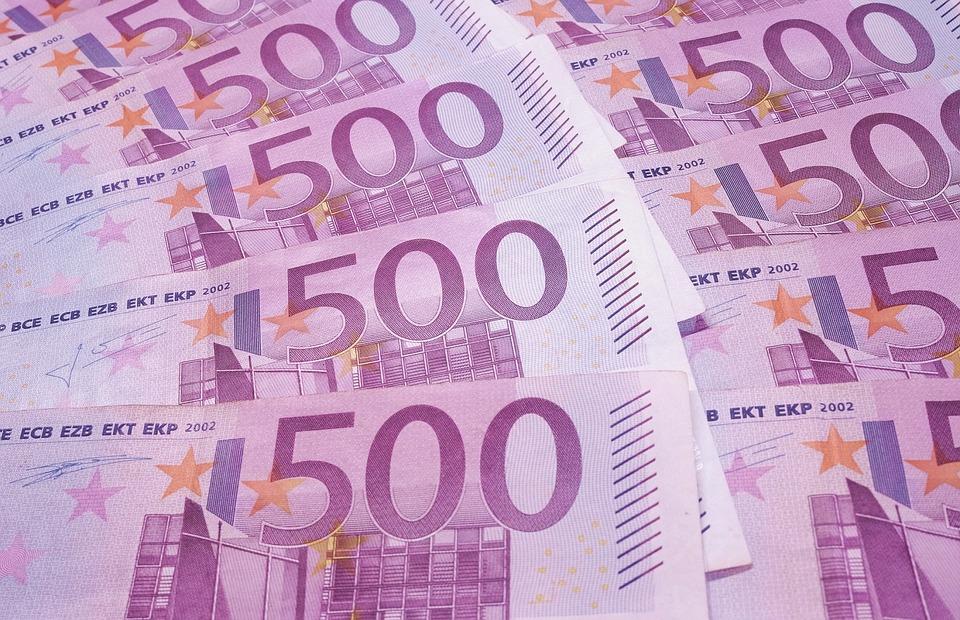 money, euros, 500