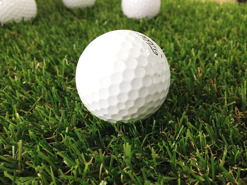 golf, golf balls, grass golf balls