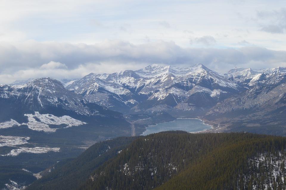 mountains, scenic, canada