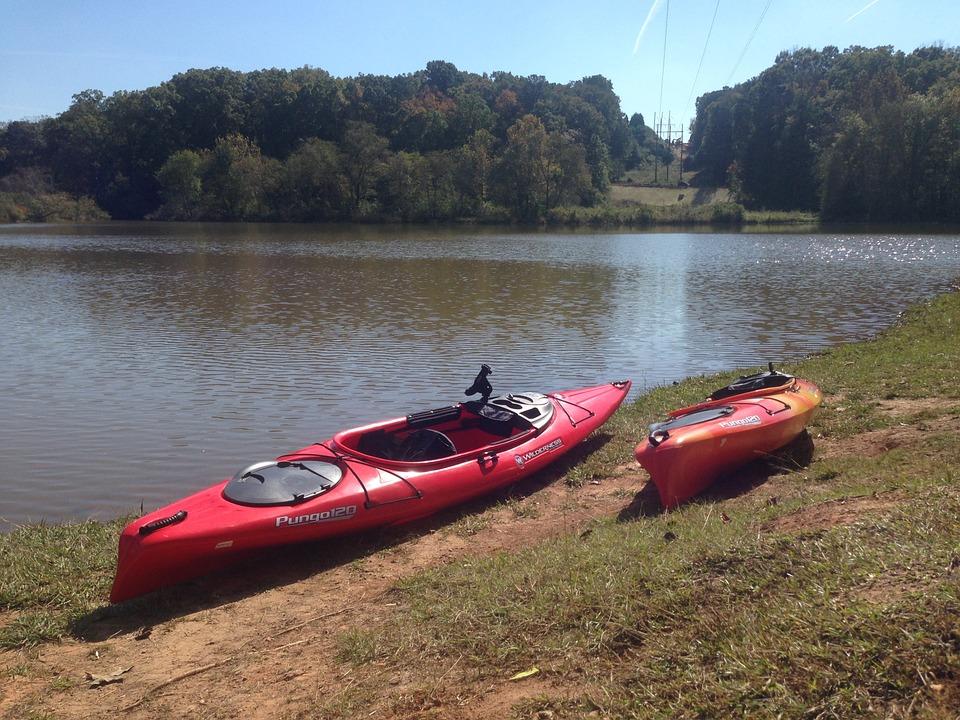 kayak, adventure, river