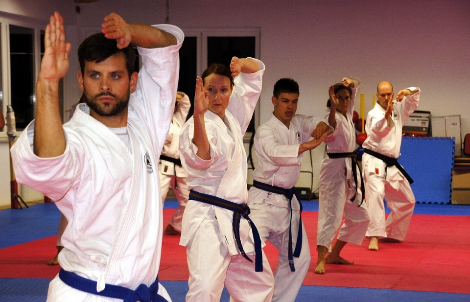 karate, martial arts, sport