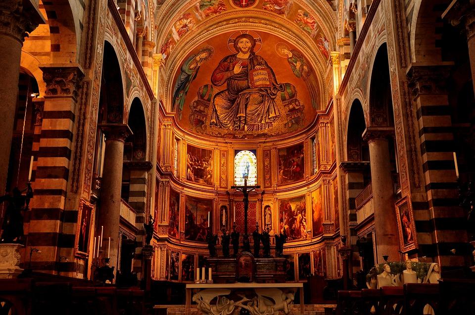 church, interior, religion