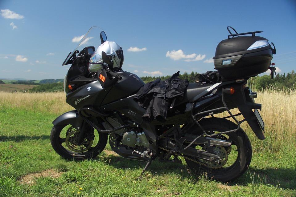 motorcycle, suzuki, v-strom