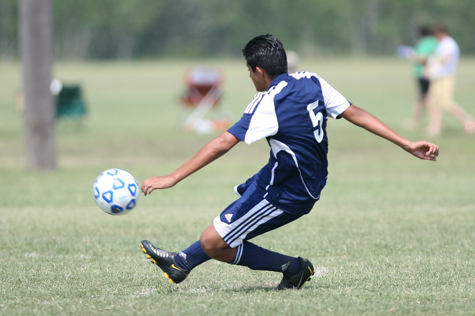 soccer, football, kick