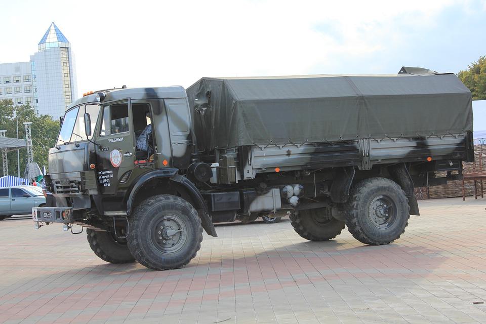 military, truck, russia