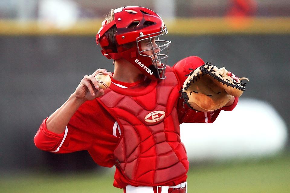baseball, baseball player, catcher