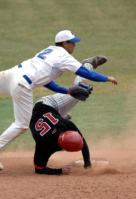 baseball, baseball player, runner