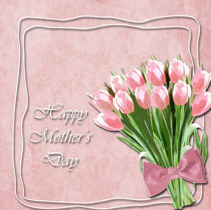 tulips, mother\'s day, mother\'s day card