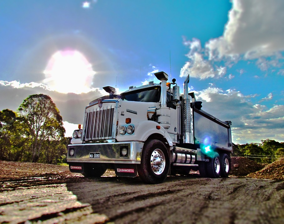 hdr, trucks, tippers