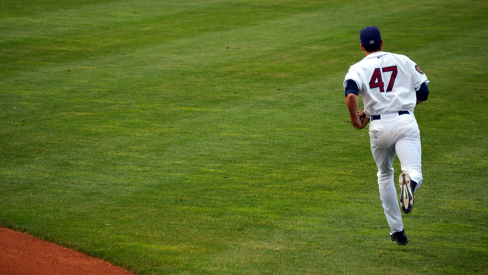 baseball, player, pitcher
