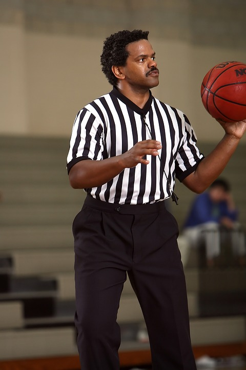 basketball, referee, official