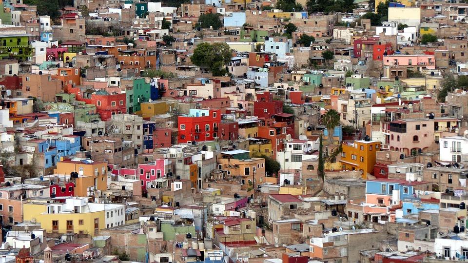 mexico, guanajuato, colonial